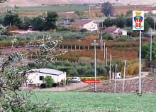 Una delle villette sequestrate dai carabinieri