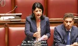 Maria Iacono e Angelo Capodicasa alla Camera