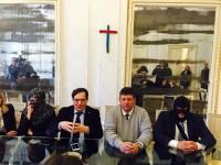 Crocetta e i testimoni di giustizia. Foto di Elvira Terranova su Facebook