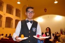 Gli studenti dell'istituto alberghiero Danilo Dolci di Partinico al Ficodindia Fest