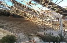 Eraclea Minoa, il teatro greco 'in gabbia'