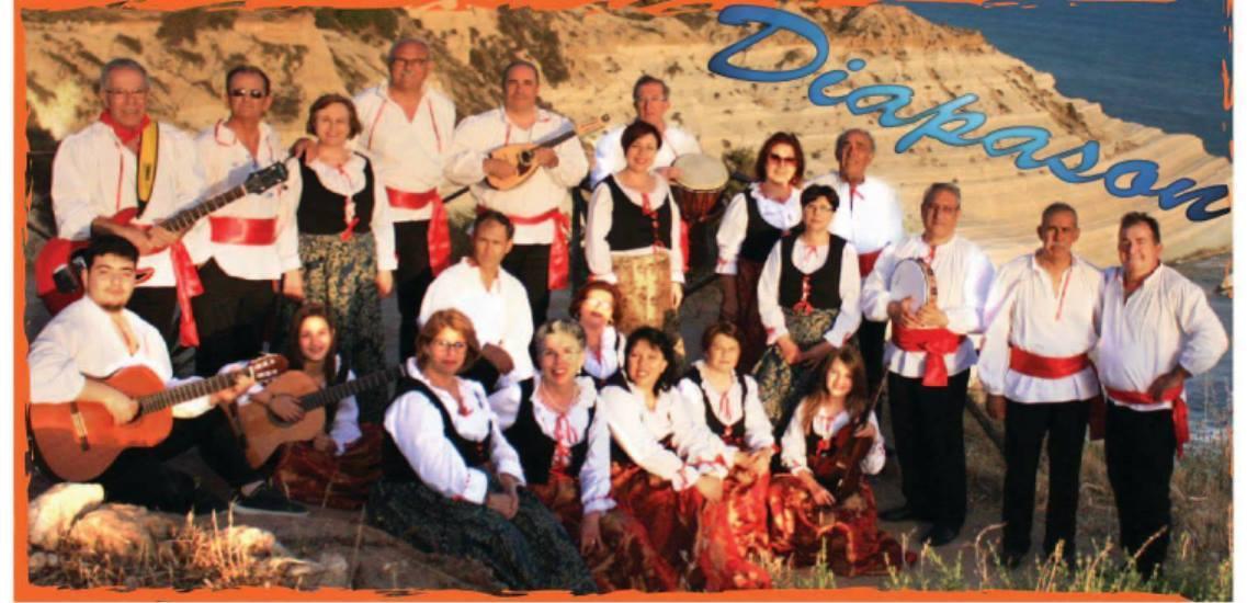 I Diapason etno folk di Realmonte approdano in America