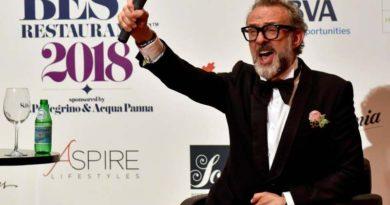Chef, Massimo Bottura è al primo posto dei 50 Best Restaurants