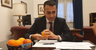 Agroalimentare, Di Maio: felice per arance siciliane in Cina