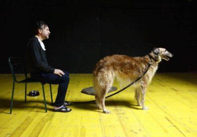 """Il teatro spiegato a un cane, Paolo Musio interpreta il testo di Pascal Rambert al """"Biondo"""" di Palermo"""