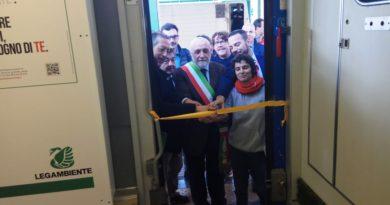 Inaugurato il Treno Verde di Legambiente e Ferrovie dello Stato Italiane a Palermo